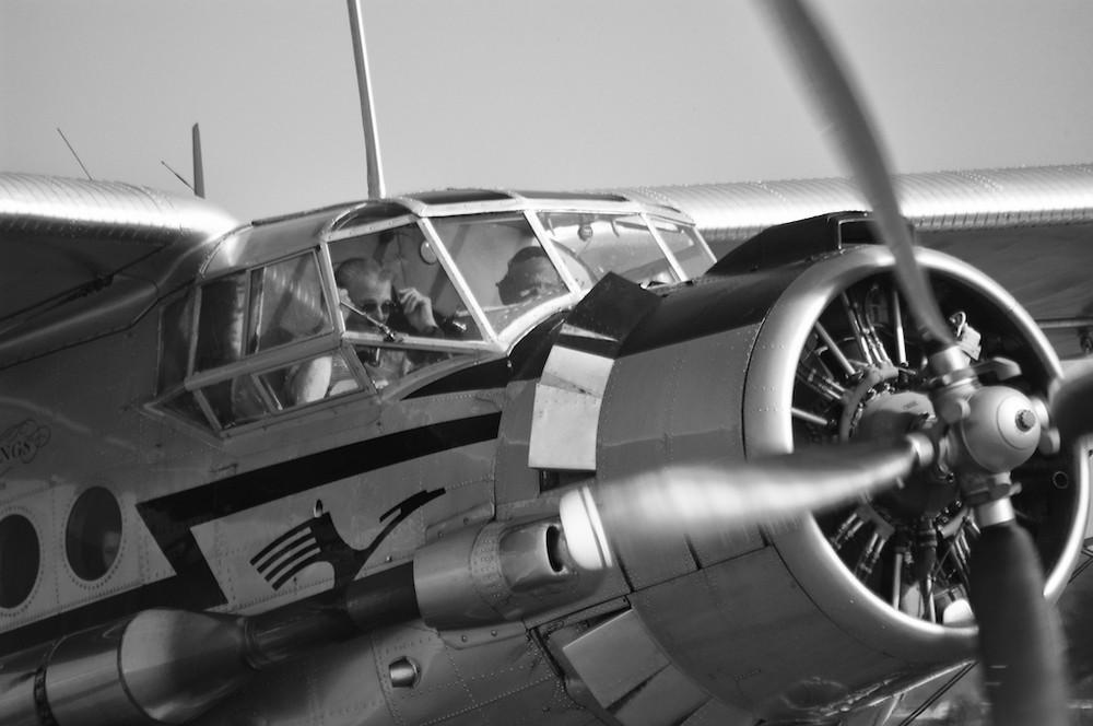 startbereite Antonov 2