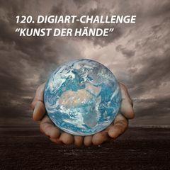 """Startbild fuer die 120. Digiart-Challenge """"Kunst der Haende"""""""