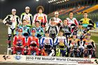 Starterfeld der Moto GP 2010