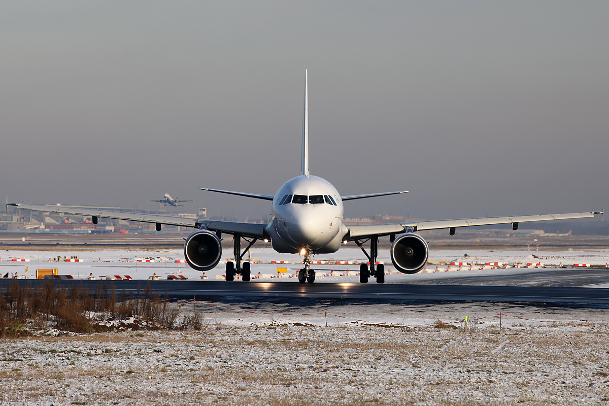 Startfreigabe....... - Frankfurt Airport - Air France Airbus A318 F-GUGK