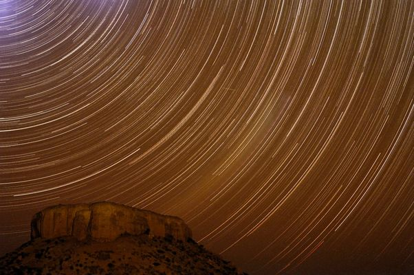 Startrails in Namibia