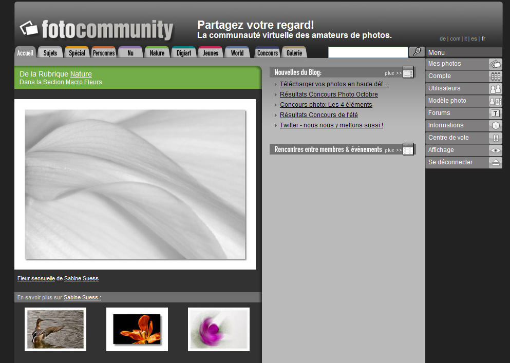 Startseite (FR) 19.11.2009, 12.00 - 14.00 Uhr