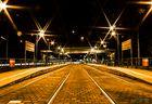 ...Station at night....