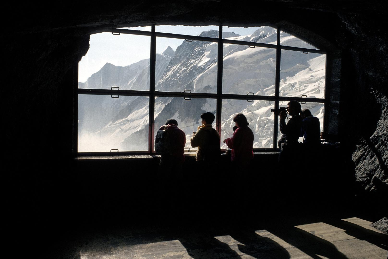 Station Eismeer der Jungfraujoch-Bahn