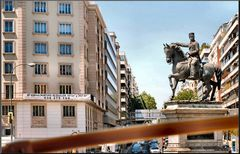 Statua a Madrid