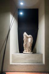 Statua panneggiata firmata da Kleomenes