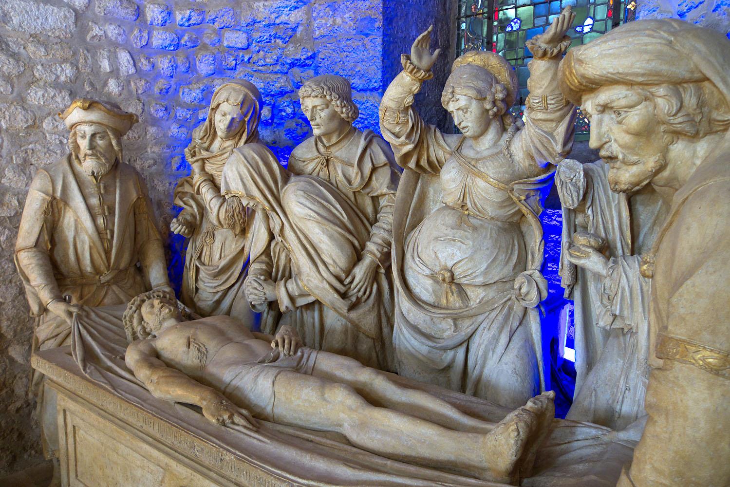 Statuaire, basilique St-Rémi de Reims