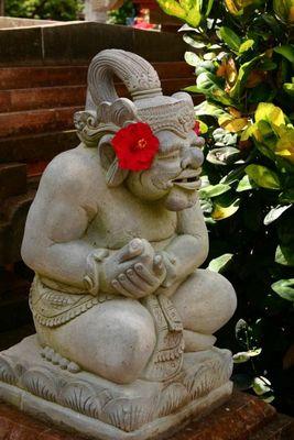 Statue auf Bali