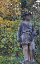 Statue auf den Kolonaden in Karlsbad