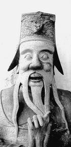 Statue chinoise.