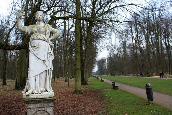 Statue Colombière