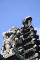 Statue d un temple Balinais