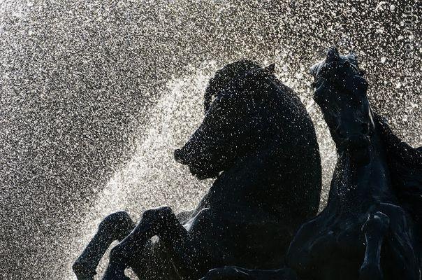 Statue de la fontaine de Port Royal