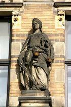 Statue der Justitia in der Ostertorstraße