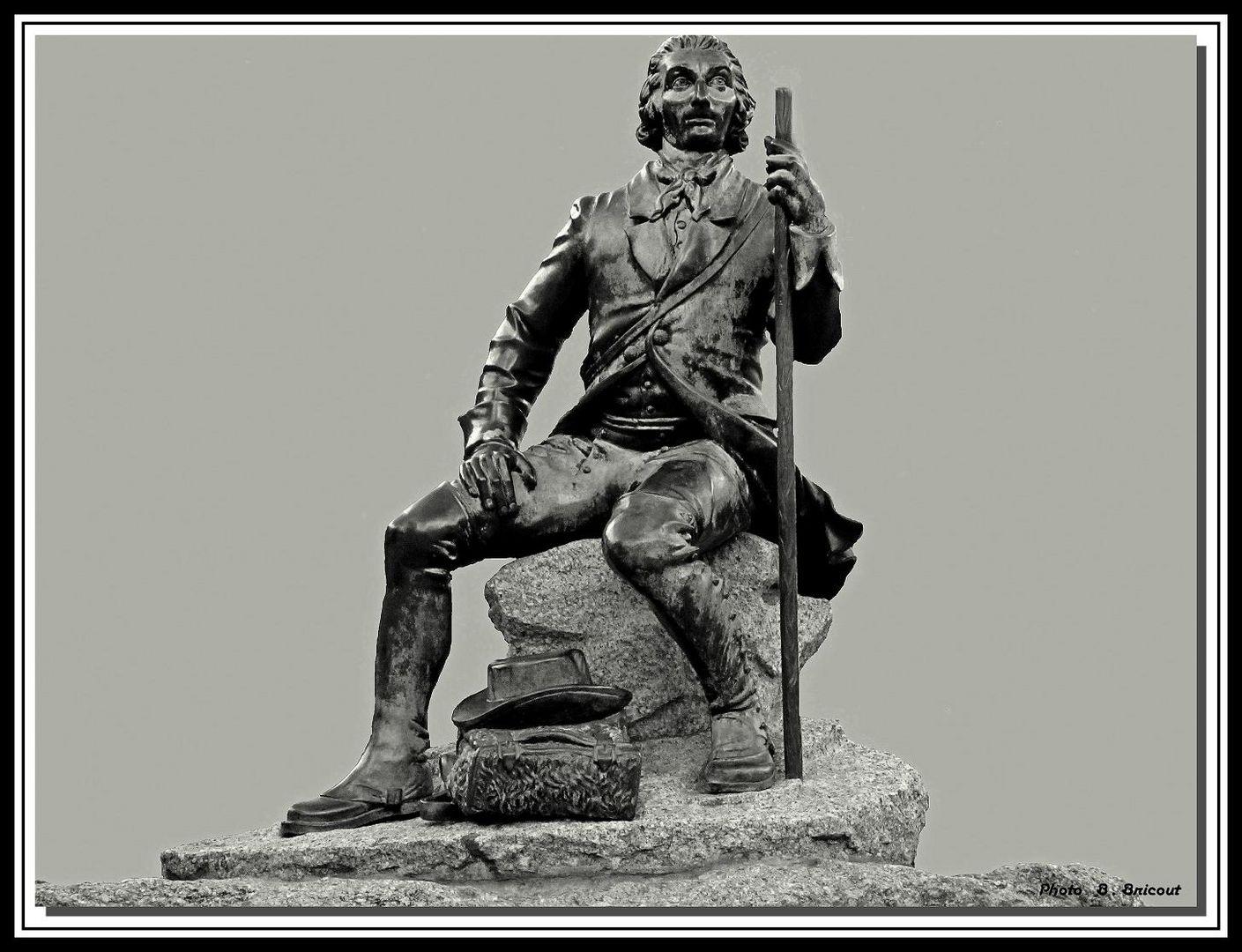 statue du Docteur Michel Paccard