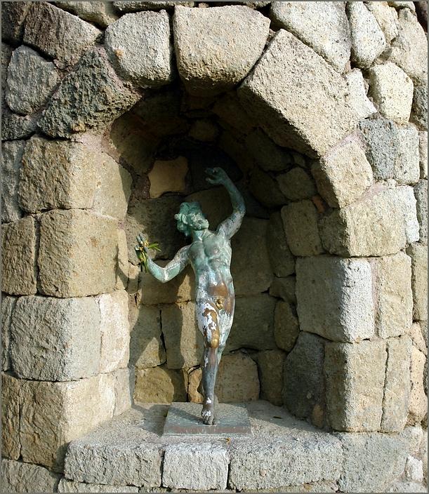 """Statue """" il Fauno """" ...."""