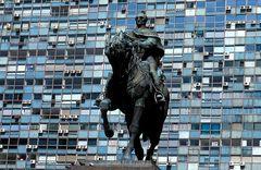 Statue in Montevideo, Uruguay