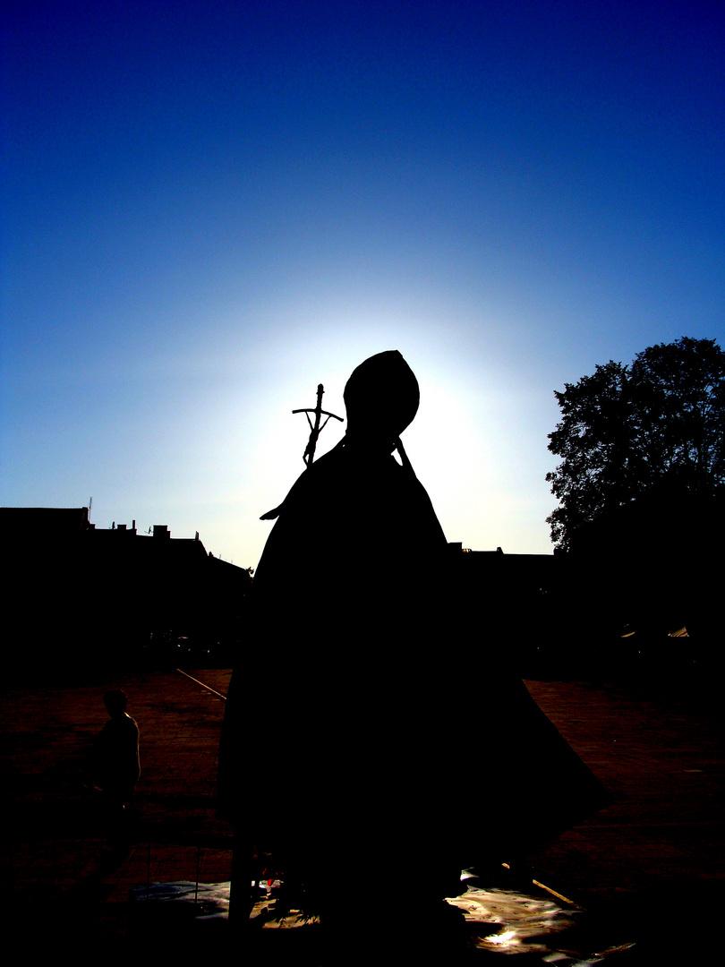 Statue Johannes Paul II. in Wadowice