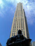 Statue vor Rockefeller Center