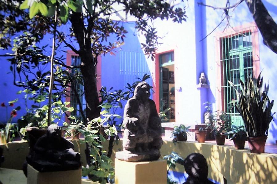 Statuen Frida Kahlo Mex-41