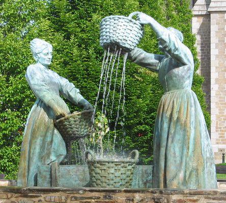 statues de bronze à Cancale