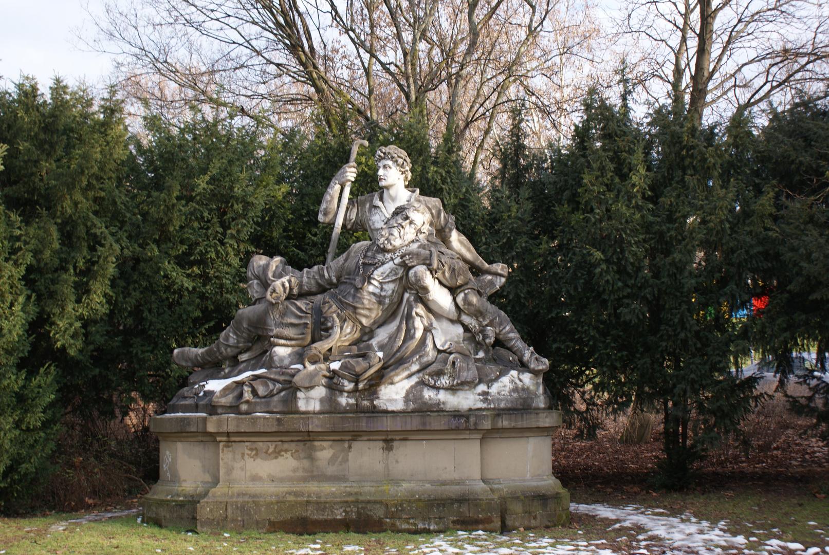 Statur in Stuttgarter Stadtpark
