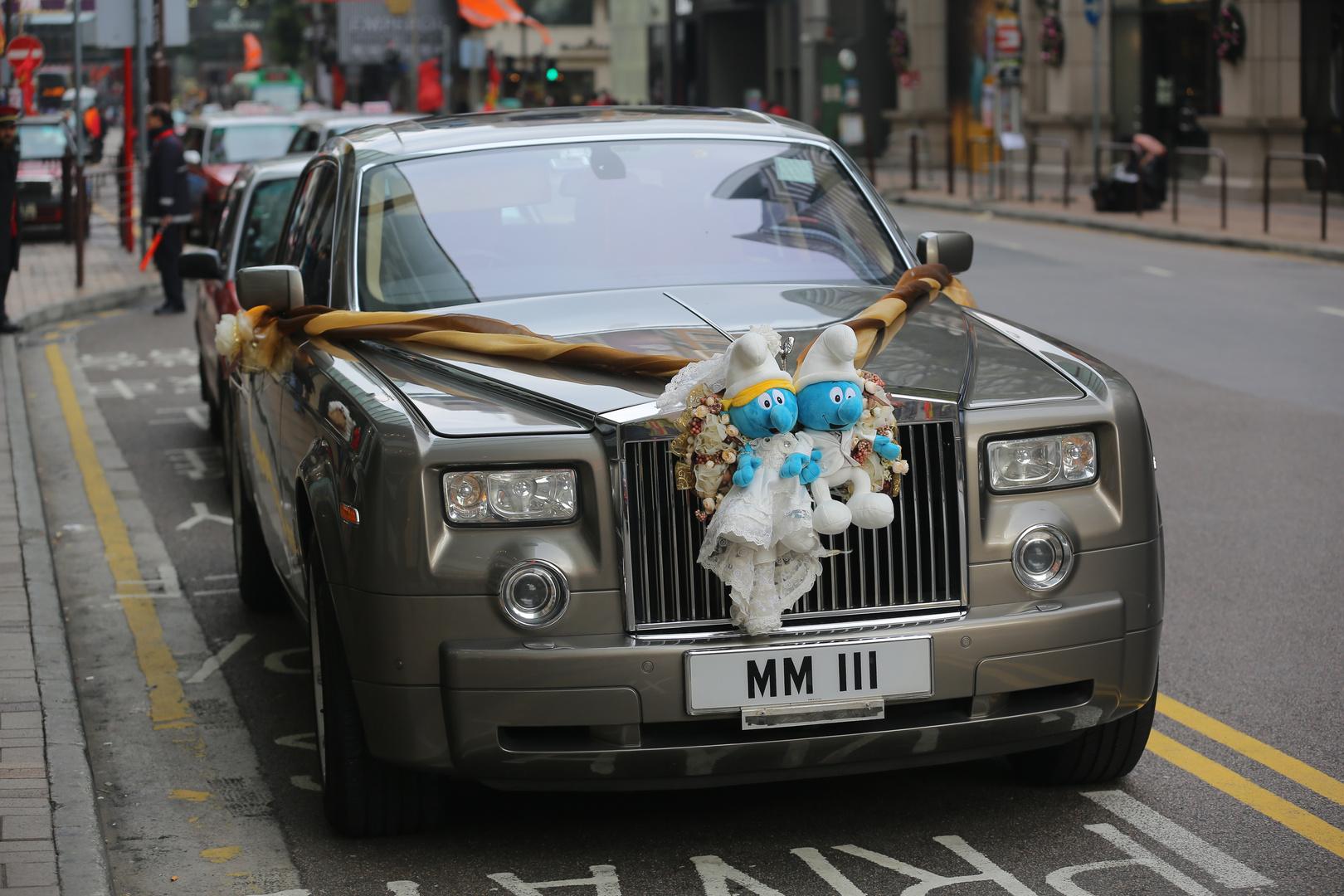 Statusgerechtes Hochzeitsfahrzeug