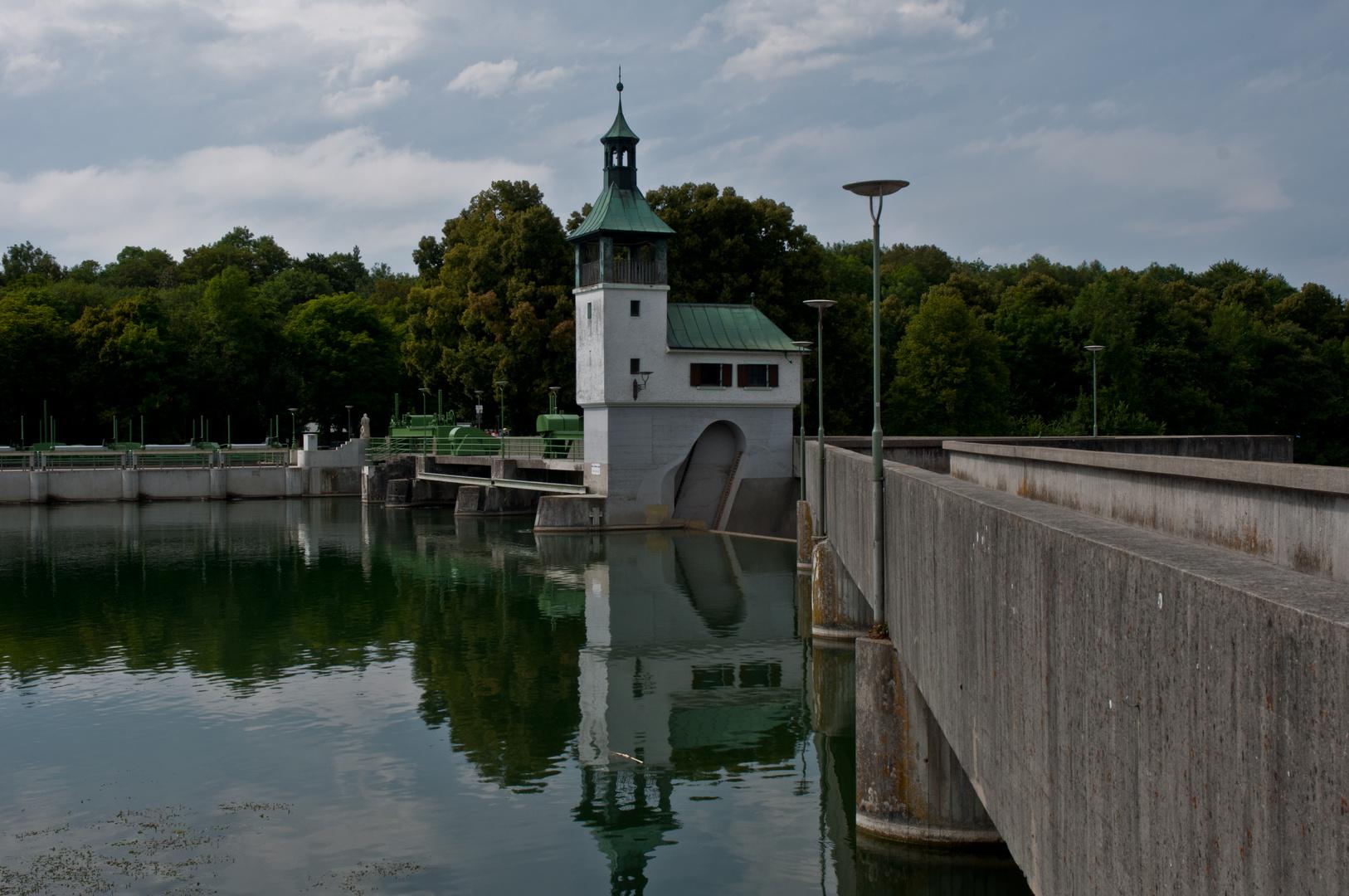 Staudamm am Lech