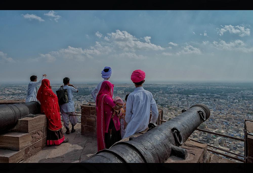 Staunende Inder....