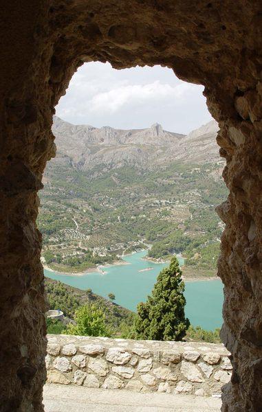 Stausee Guardelest (Spanien)