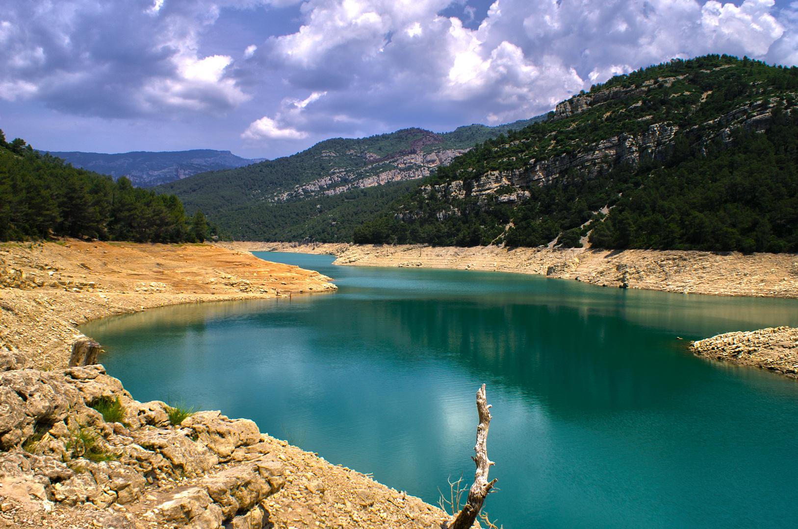 Stausee in Spanien nahe Ulldecona...