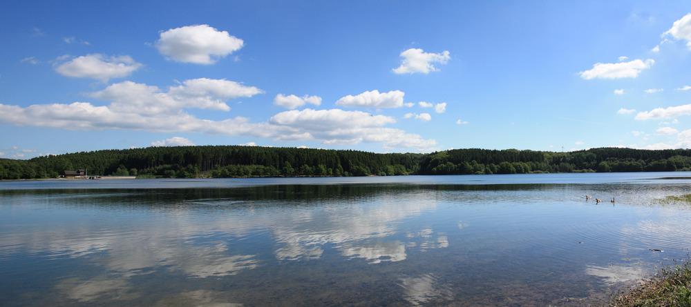 Stausee-Panorama