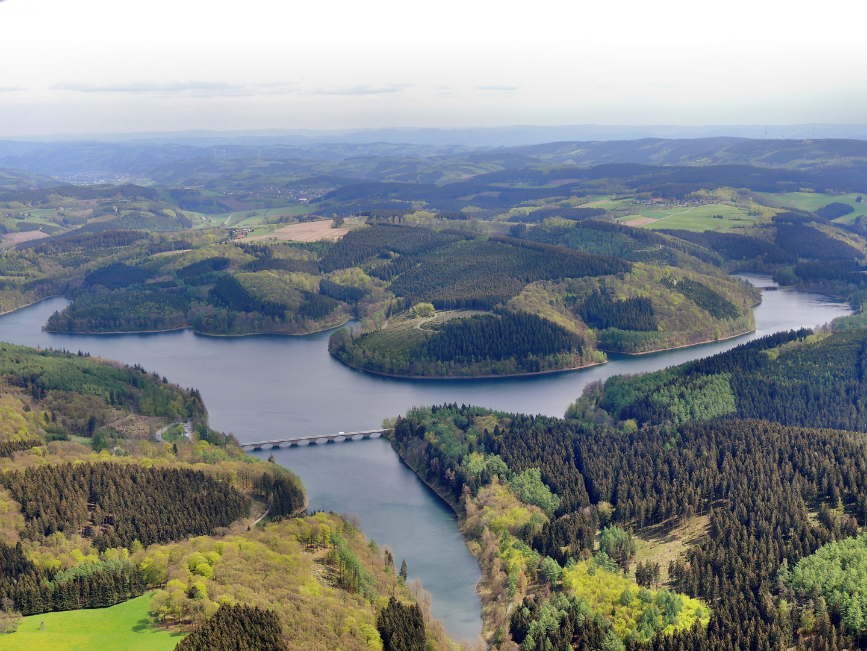 Stausee Sauerland