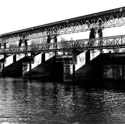 Stauwehr Märkt bei Weil am Rhein