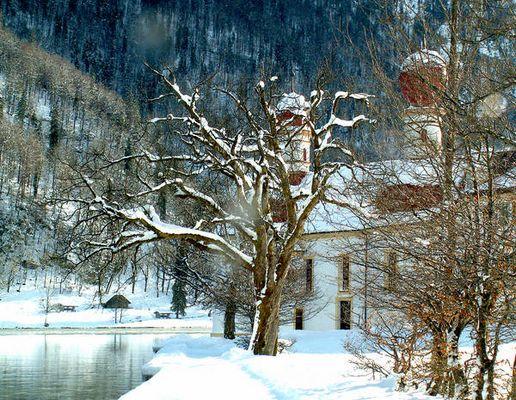 St.Bartholomä im Winter