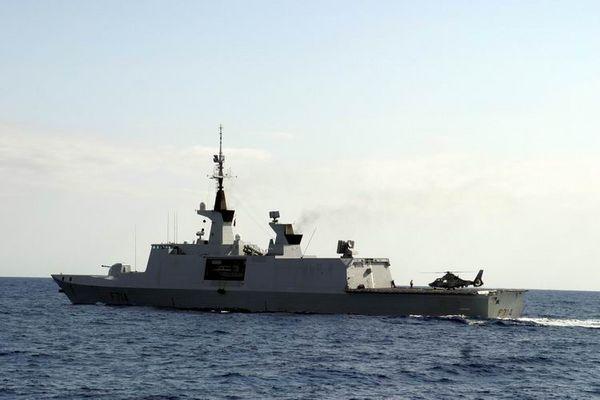 Stealth Fregatte F 714 der La Fayette Klasse