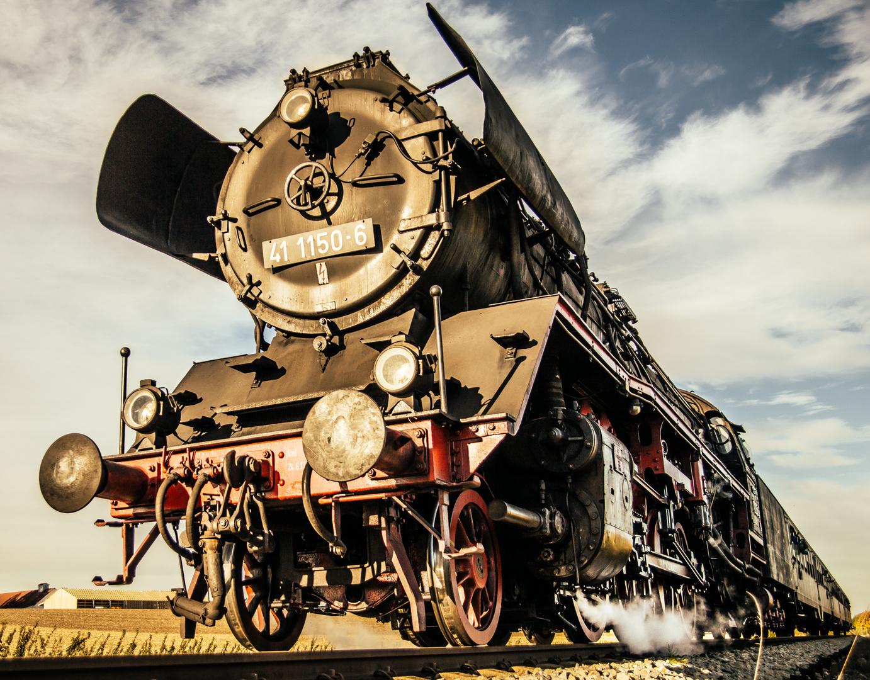 steam powered!