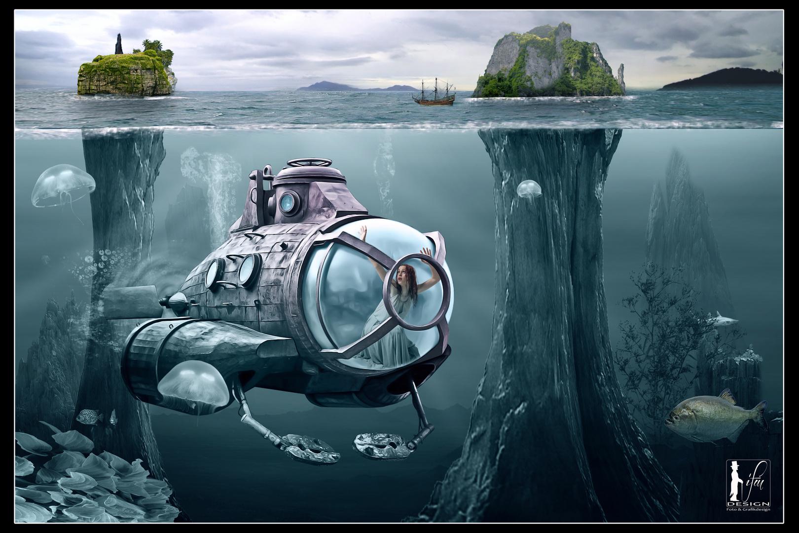Steam Submarine