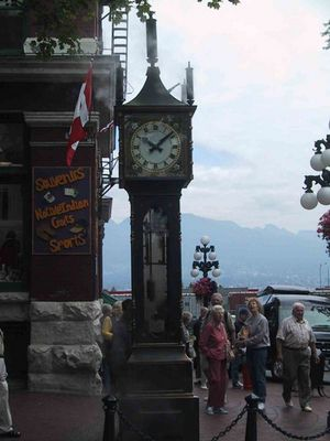 Steamclock in  Vancouver