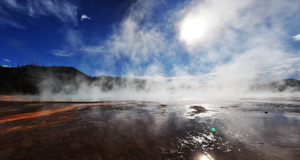 steaming planet