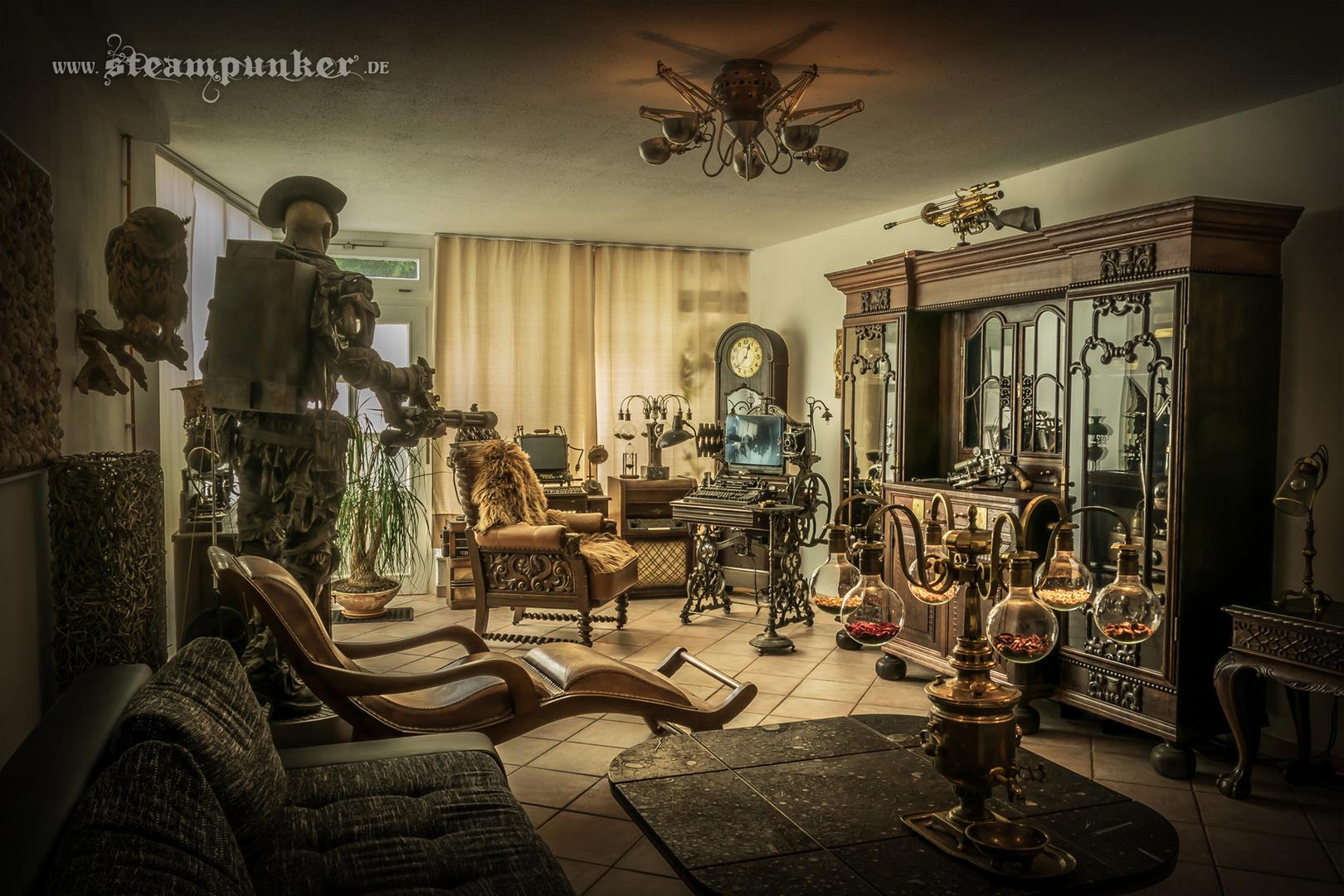 Steampunk Wohnraum