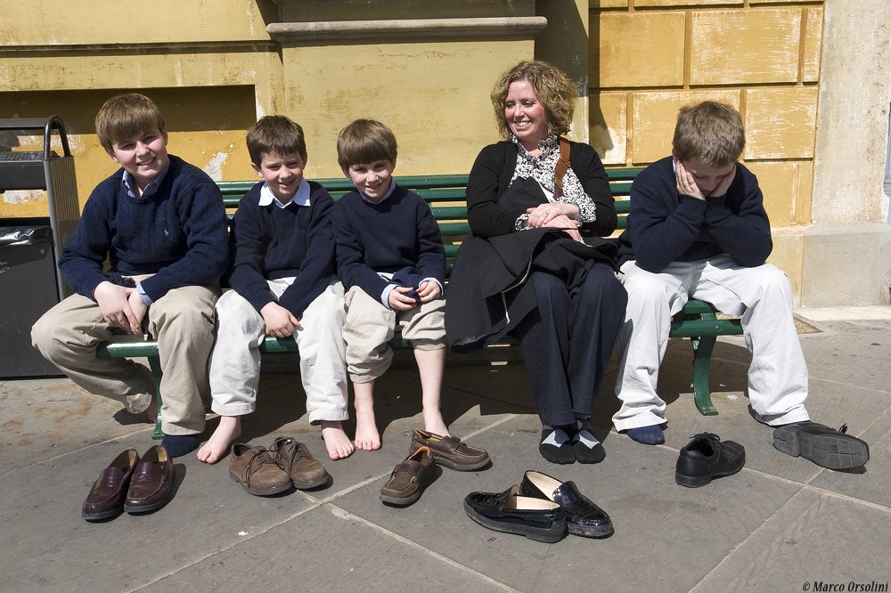 Steamy Feet - Roma 2009