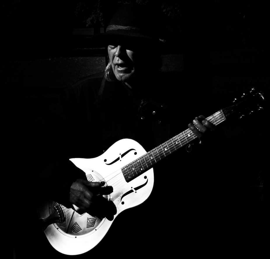 steel guitar man