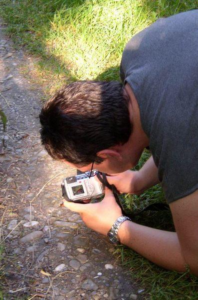 Stefan jagt Schnecken