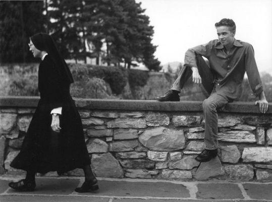 Stefan mit Nonne
