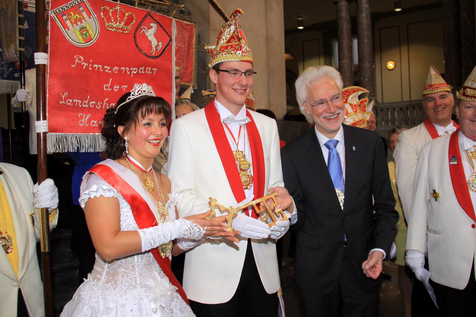 Stefanie II.und Prinz Daniel I