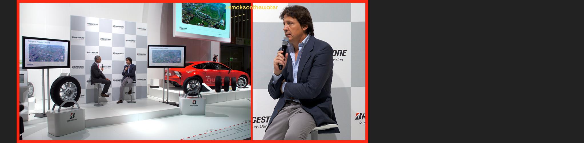 Stefano Modena @ Bridgestone