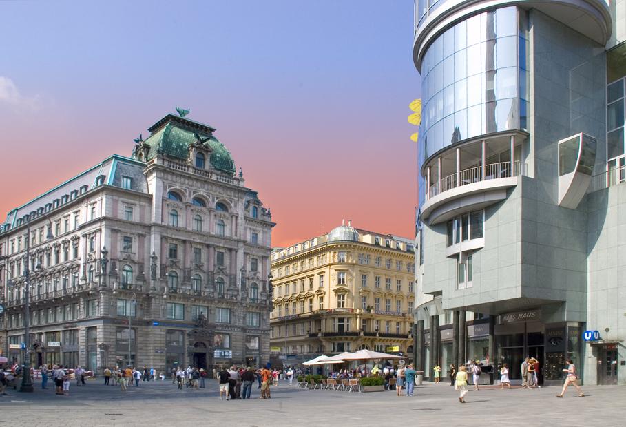 Stefansplatz in Wien