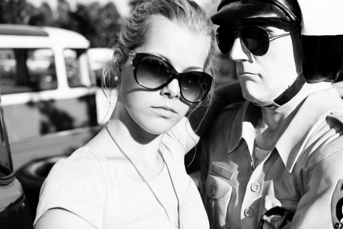 Steffi mit ihrem Freund'09