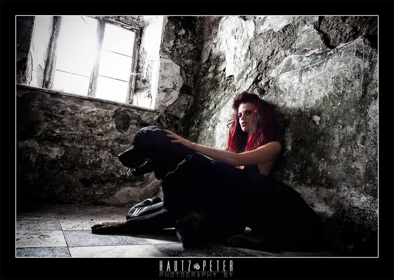 Steffi und Ihr Rottweiler